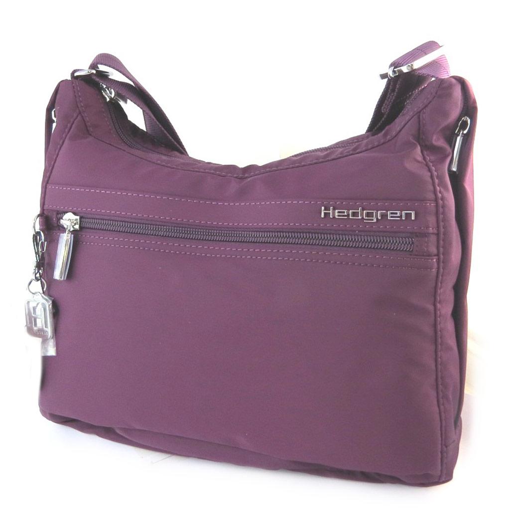 Sac bandoulière \'Hedgren\' violet - [N7766]