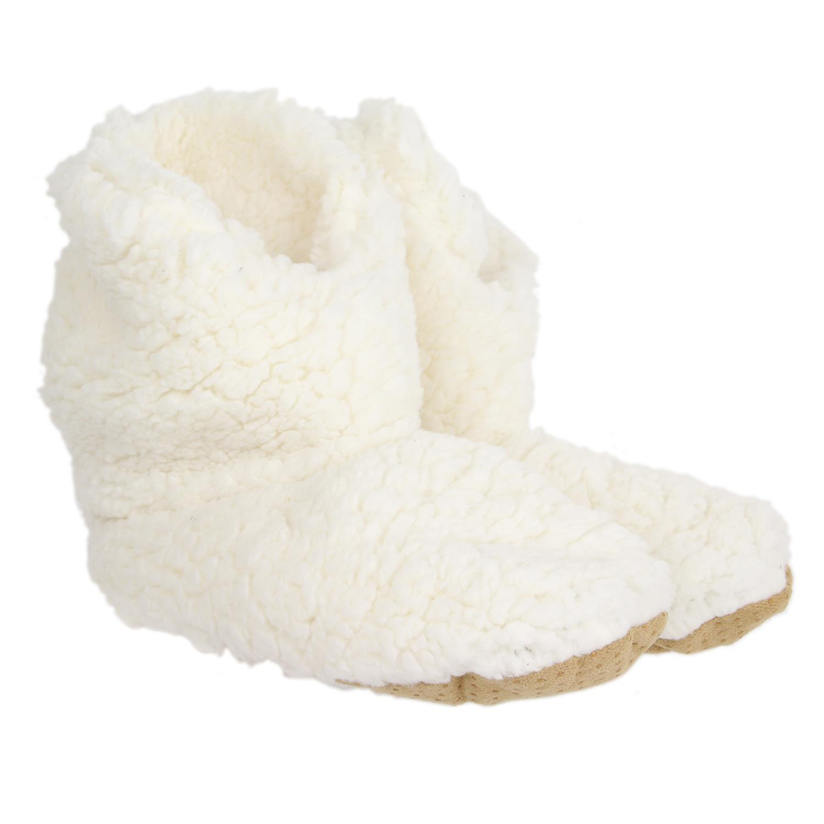 Chausson hiver \'Sherpa\' beige - taille 40-41 - [A0042]