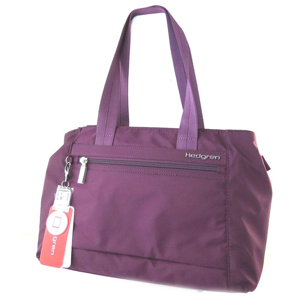 Sac \'Hedgren\' violet (2 compartiments) - 38x24x11 cm - [N7772]