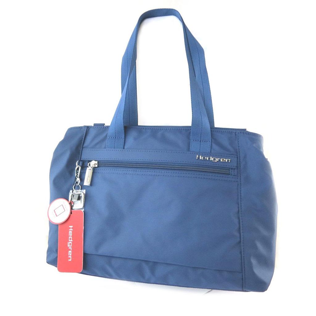 Sac \'Hedgren\' bleu (2 compartiments) - 38x24x11 cm - [N7775]
