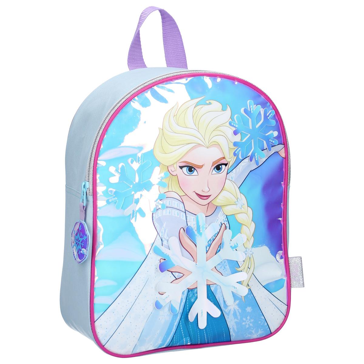 Sac à dos \'Frozen - Reine des Neiges\' bleu - 32x26x11 cm - [A0053]