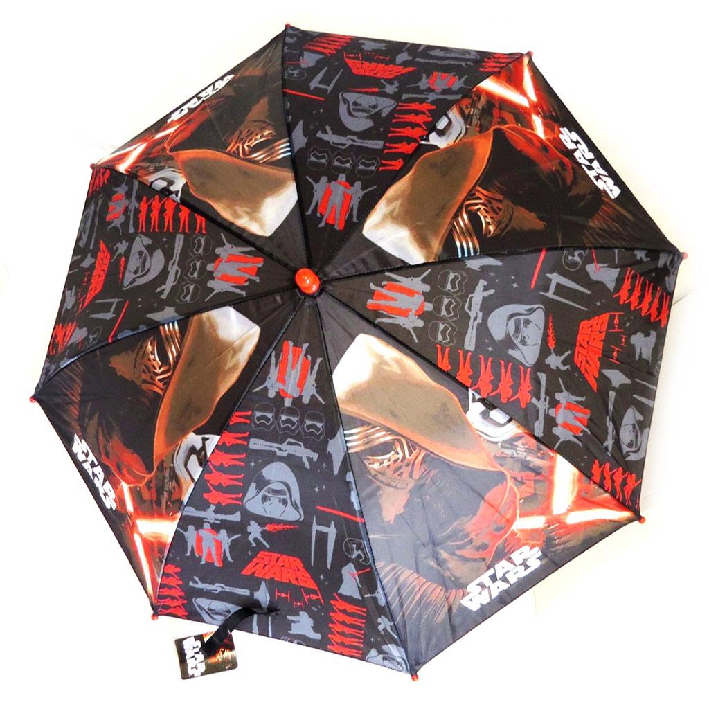 Parapluie Enfant \'Star Wars\' noir rouge rouge  (46 cm - diamètre 84 cm) - [N5565]