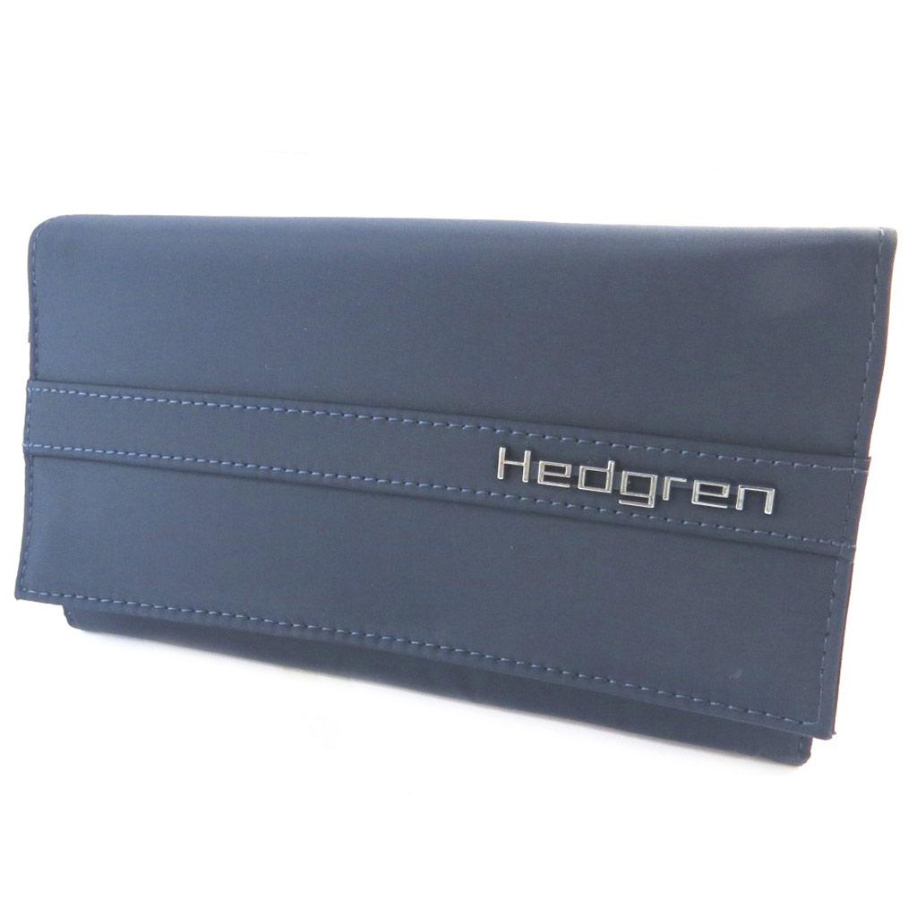 Portefeuille toile \'Hedgren\' marine - [N7803]