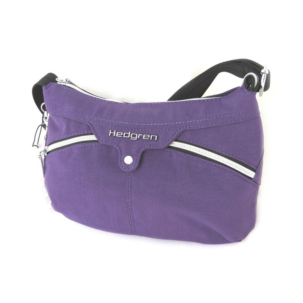 Sac bandoulière \'Hedgren\' violet - 28x19x25 cm - [N7808]