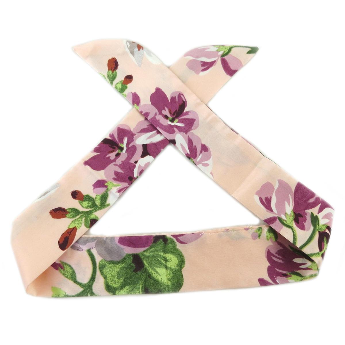 Bandeau créateur \'Tokyo\' rose pâle (rosa romantica) - 93x5 mm - [Q0122]