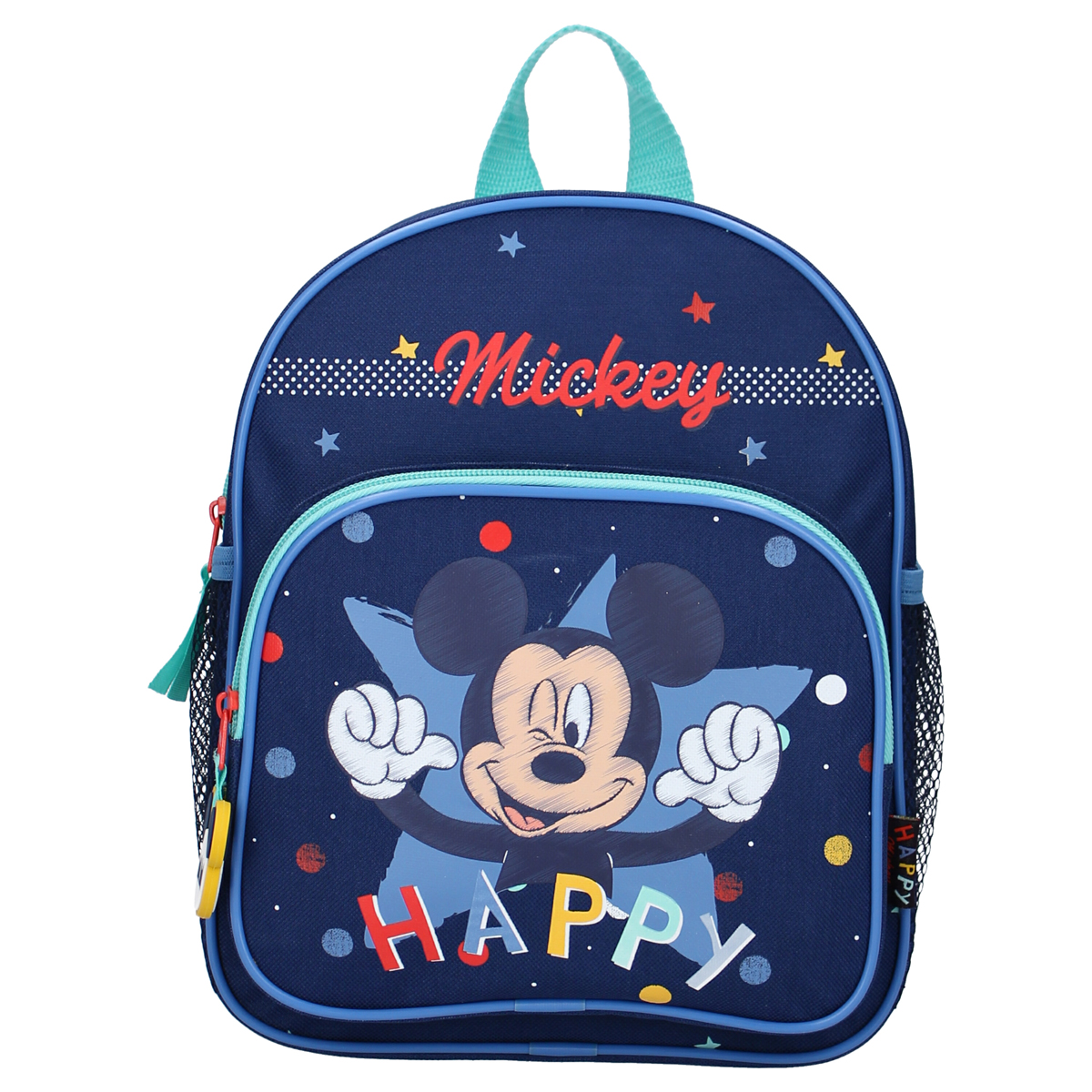 Sac à dos créateur \'Mickey\' marine - 28x22x9 cm - [A0120]