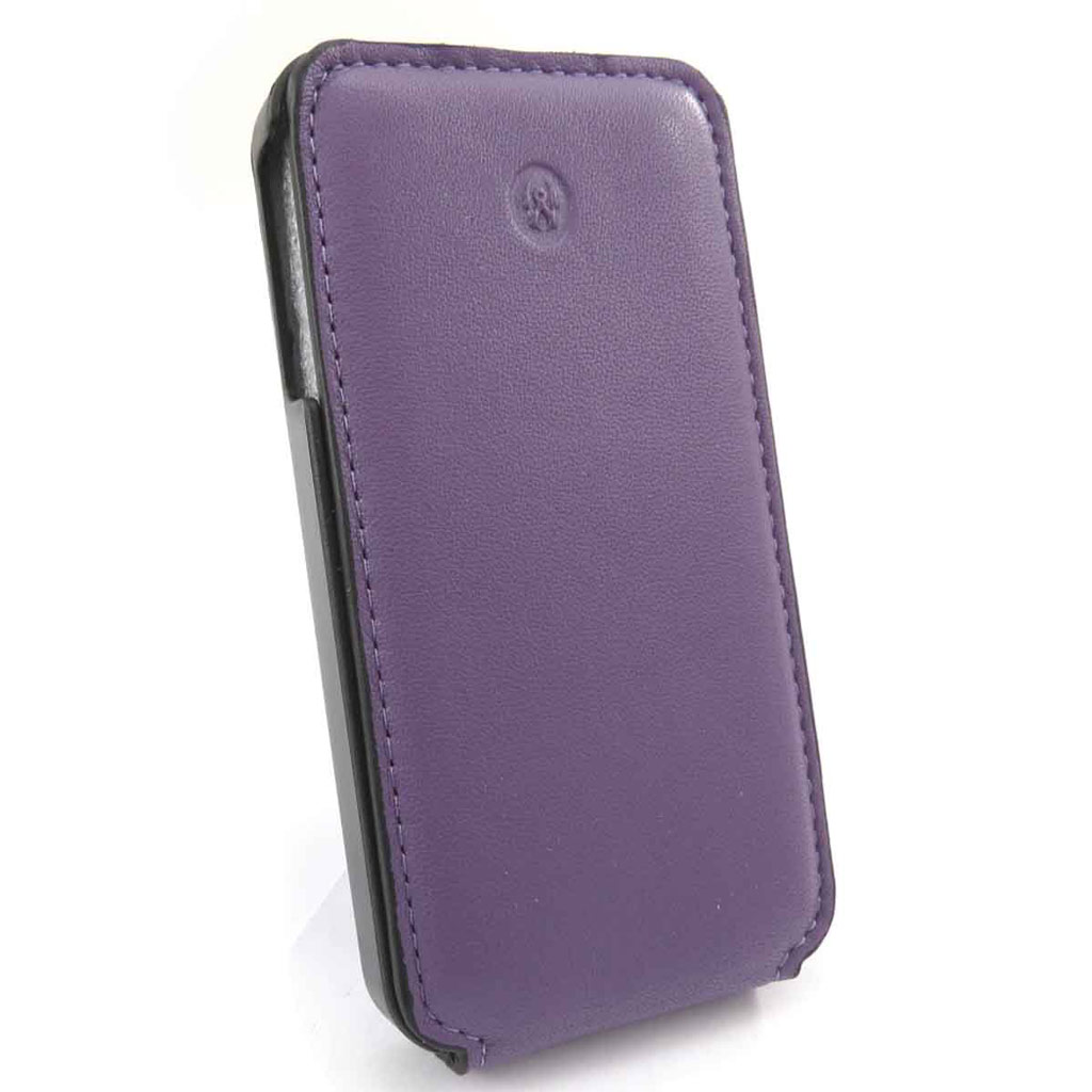 Etui Iphone 4 \'Lafayette\' violet - [J6577]