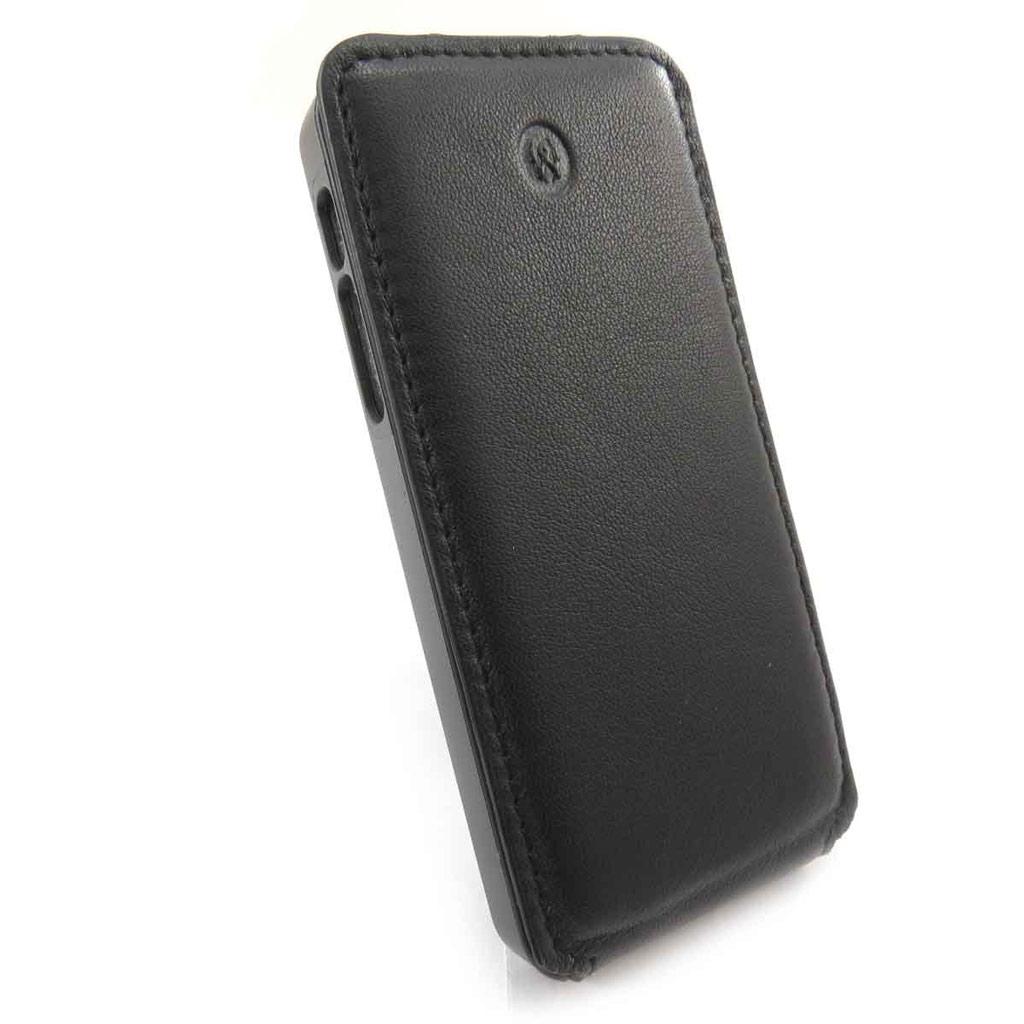 Etui Iphone 5 \'Lafayette\' noir - [J6582]