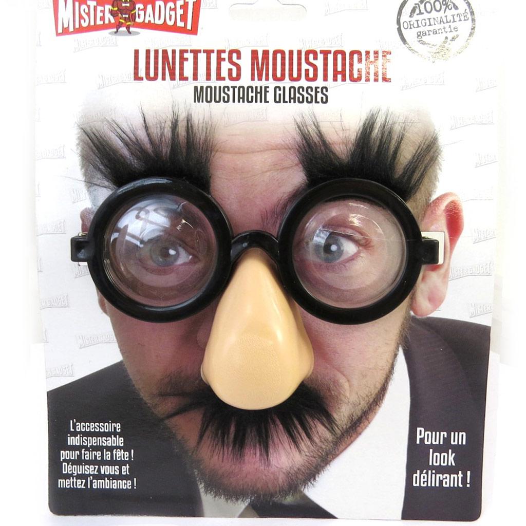 Lunettes humoristiques \'Monsieur Moustaches\'  - [L9101]