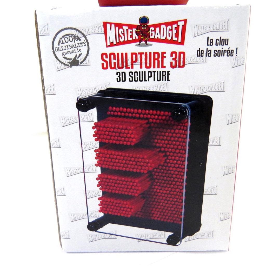 Cadeau \'Sculpture 3D\' rouge - [L9129]