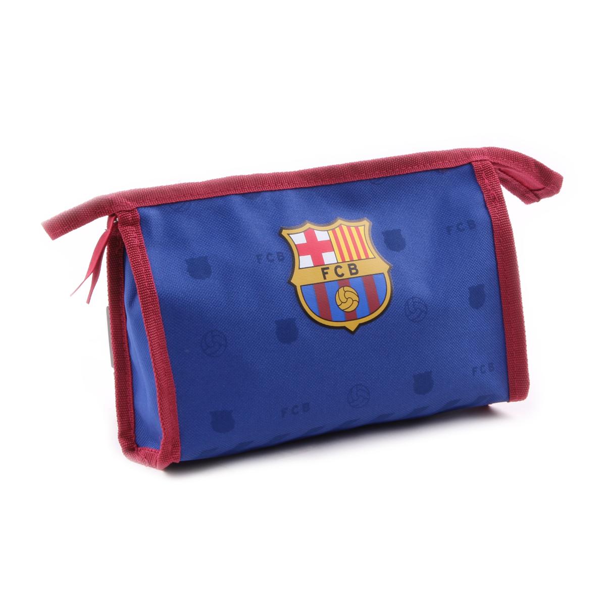 Trousse de toilette \'FC Barcelona\' bleu rouge - 23x15x7 cm - [Q1927]