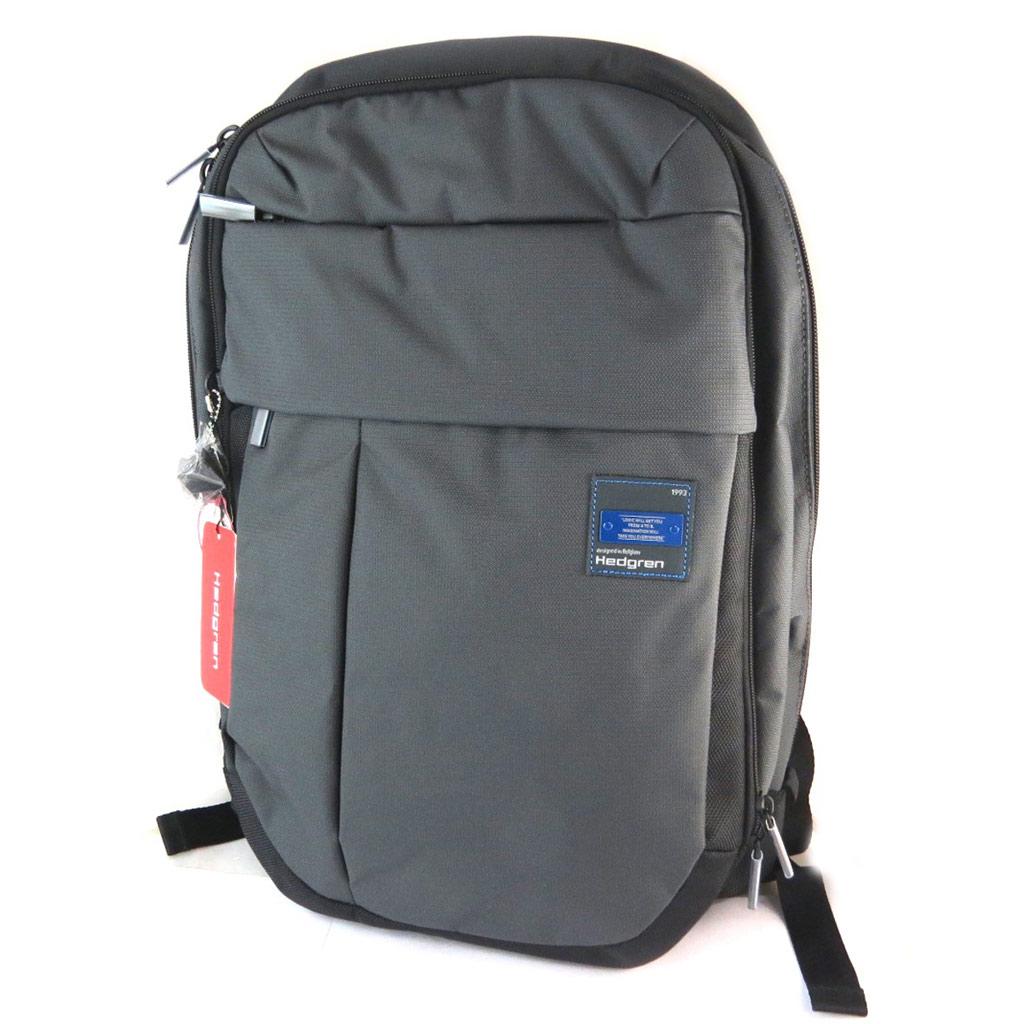 Sac à dos \'Hedgren\' gris carbone - 46x30x15 cm (spécial tablette) - [N9984]