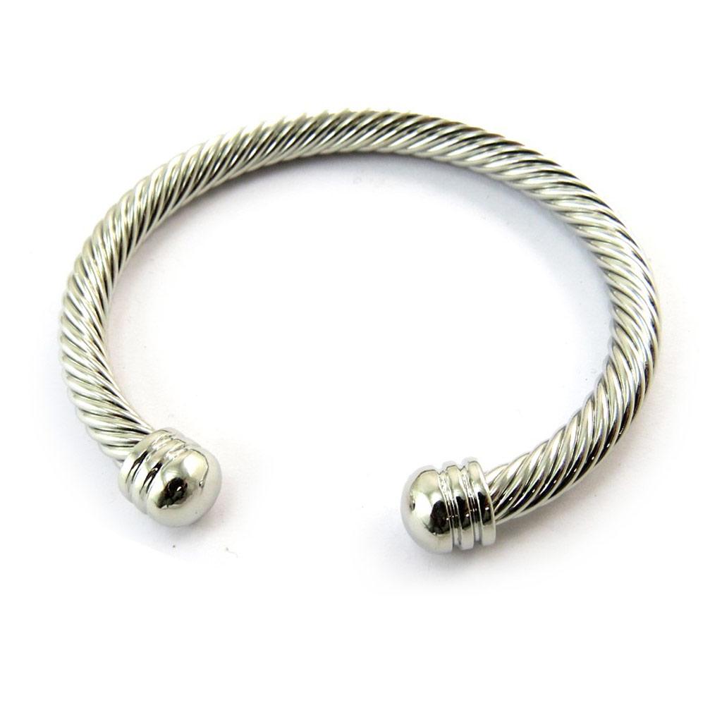 Bracelet \'Chorégraphie\' argenté - [N3474]