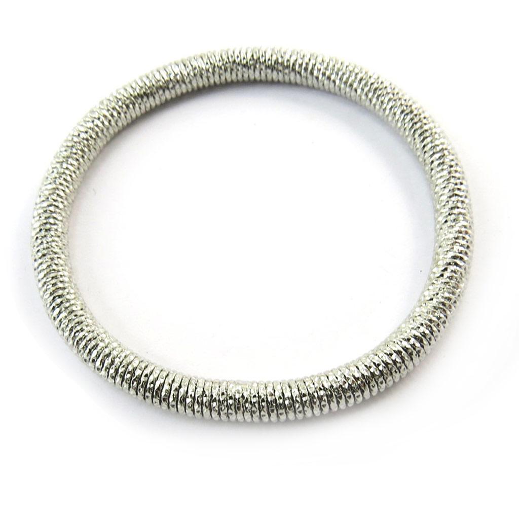 Bracelet \'Chorégraphie\' argenté - [N3476]