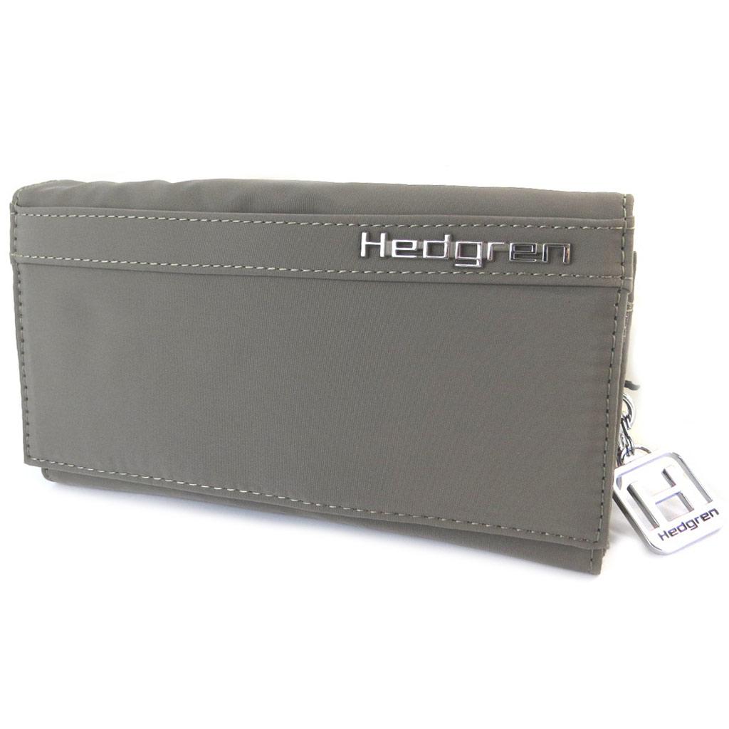 Portefeuille toile \'Hedgren\' taupe (2 compartiments) - 175x95x35 cm - [P0018]