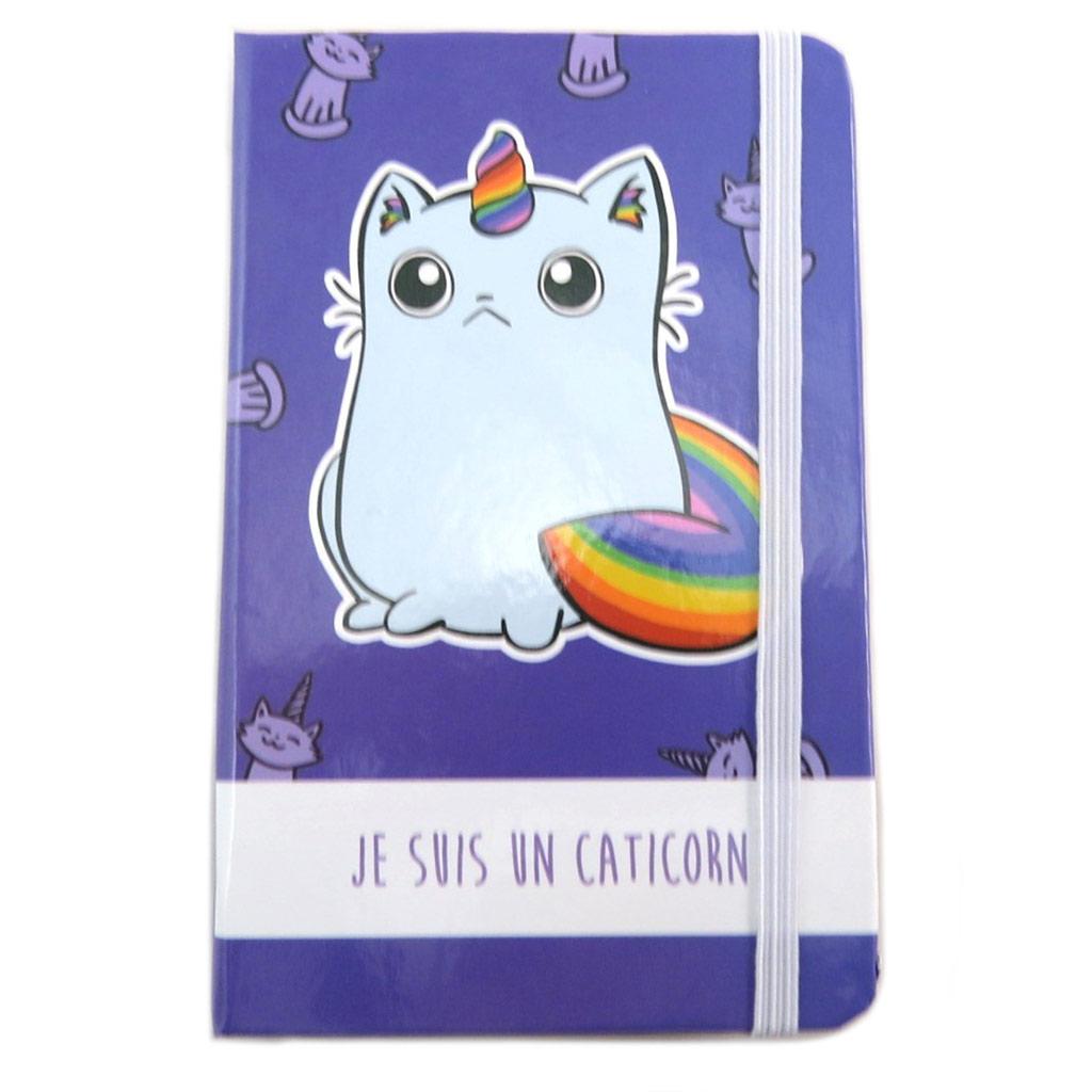 Carnet Intime \'Licorne My Unicorn\' violet (Je suis un Caticorn) - 145x95 cm - [N7994]