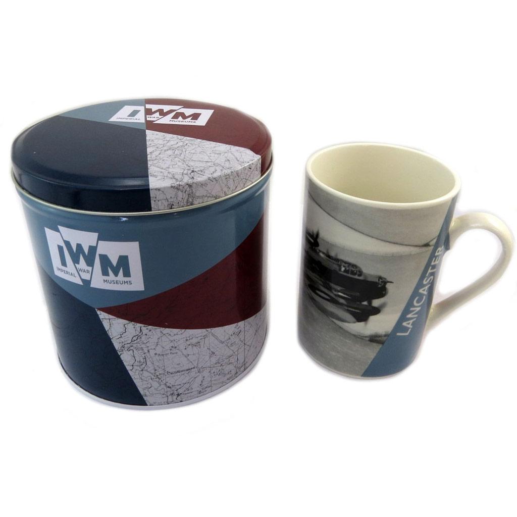 Mug de collection \'Royal Air Force\' Lancaster (porcelaine) - [P5408]