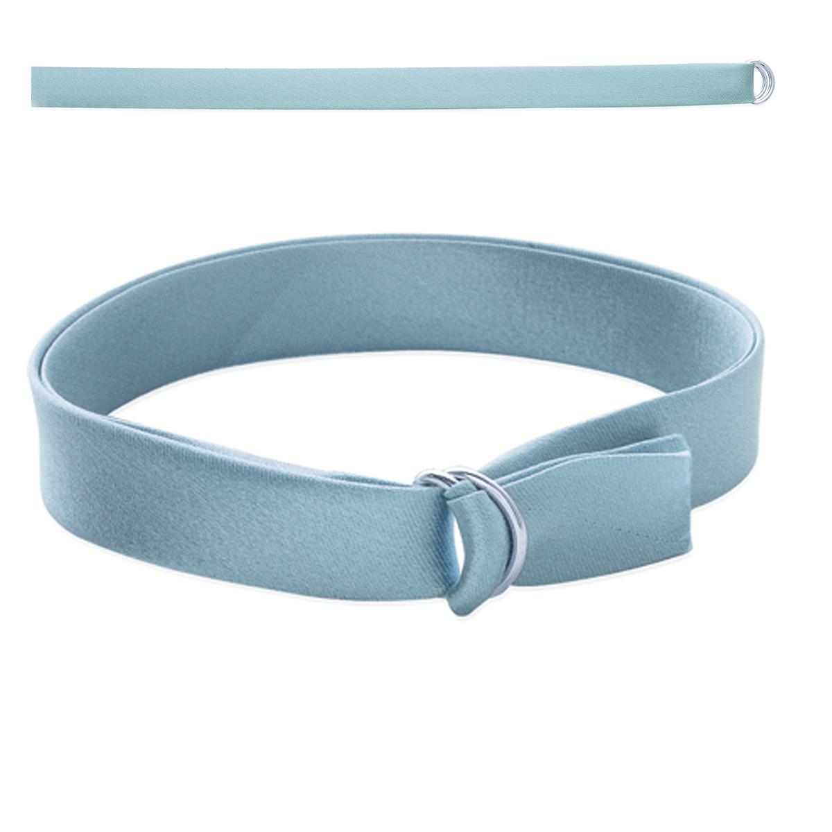 Bracelet \'Satin\' argenté - 1 cm - [I8056]