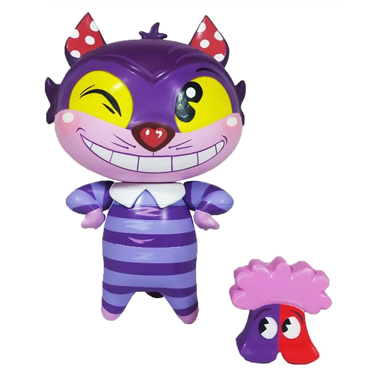 Figurine créateur \'Chat du Cheshire\'  (Miss Mindy) - 17x115x11 cm - [Q5105]