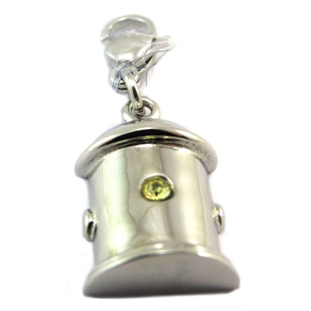 Maille \'Lily Pop\' argenté (lanterne) - [P5607]