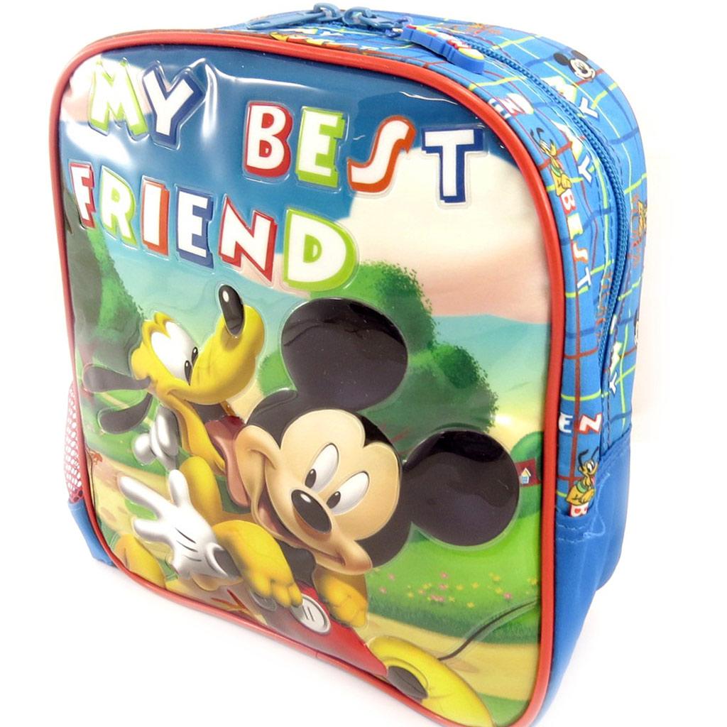 Sac à dos enfant \'Mickey\' bleu tutti frutti (25 cm) - [L0312]