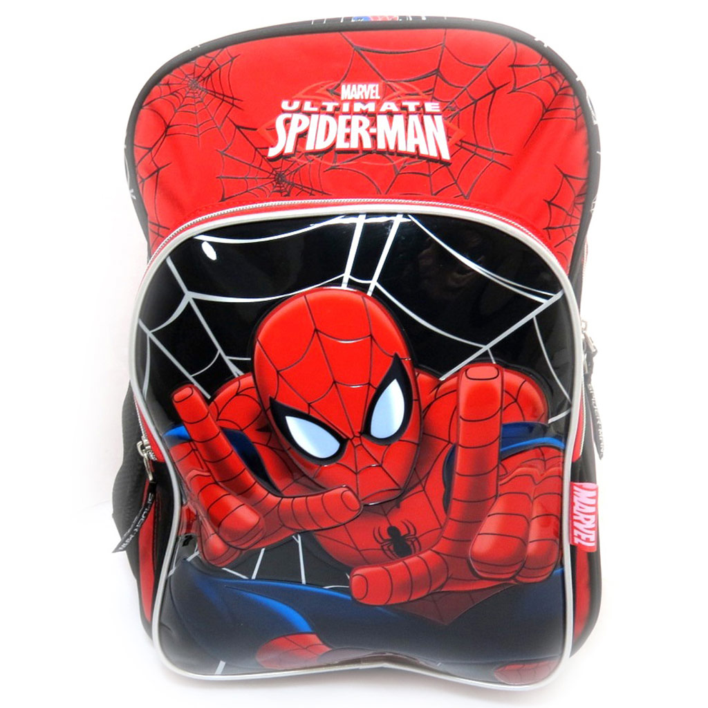 Sac à Dos \'Spiderman\' rouge noir (40 cm) - [L0314]
