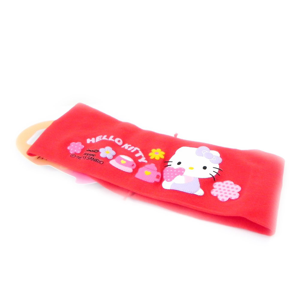 Bandeau \'Hello Kitty\' rouge - [H7242]