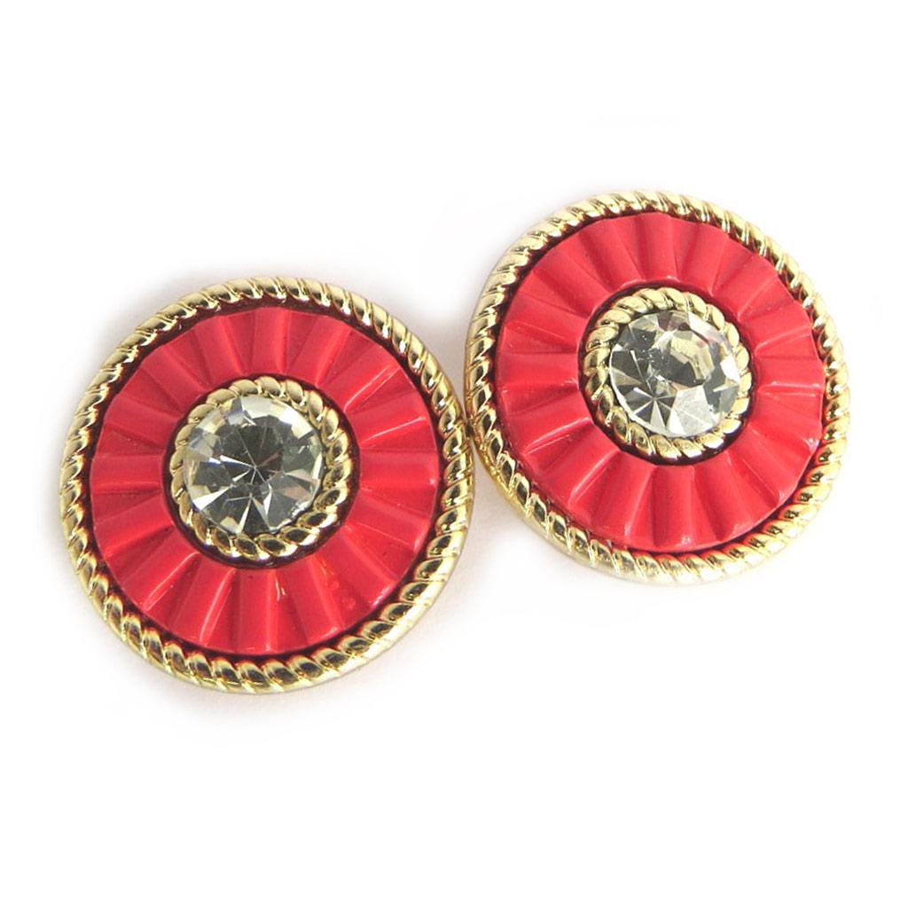 Boucles Créateur \'Navajos\' rouge doré - [N3696]