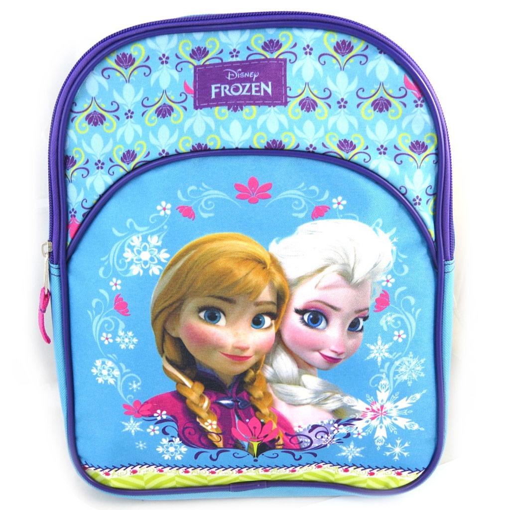 Sac à Dos \'Frozen - Reine des Neiges\' bleu (33x25x10 cm) - [M6372]