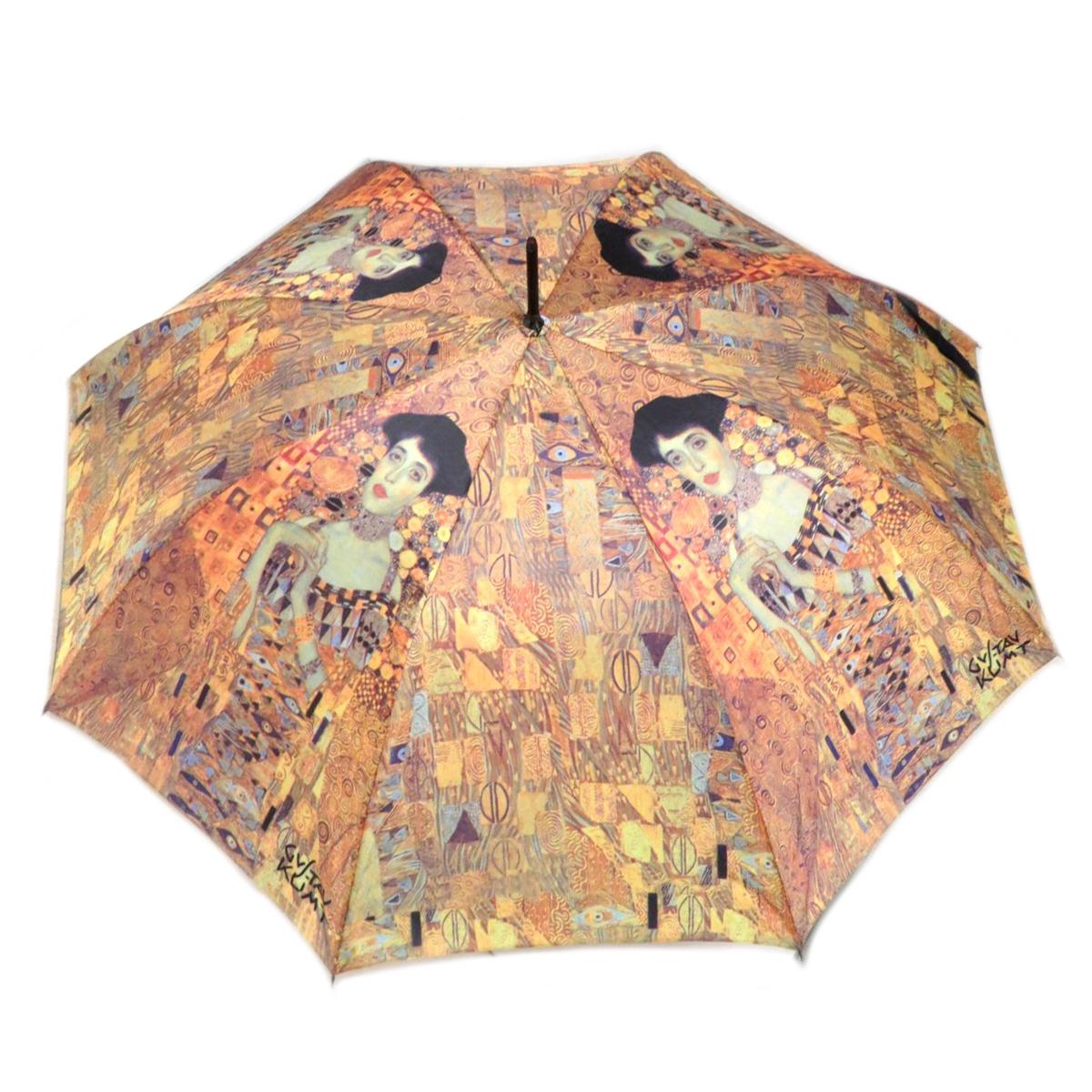 Parapluie canne \'Gustav Klimt\' (Adèle) - 88 cm - [Q0159]