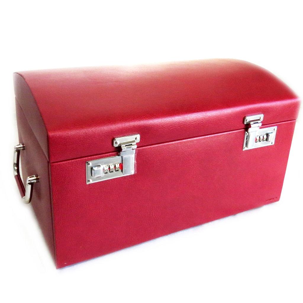 Coffret à Bijoux \'La Montecristo\' rouge  - [L9411]