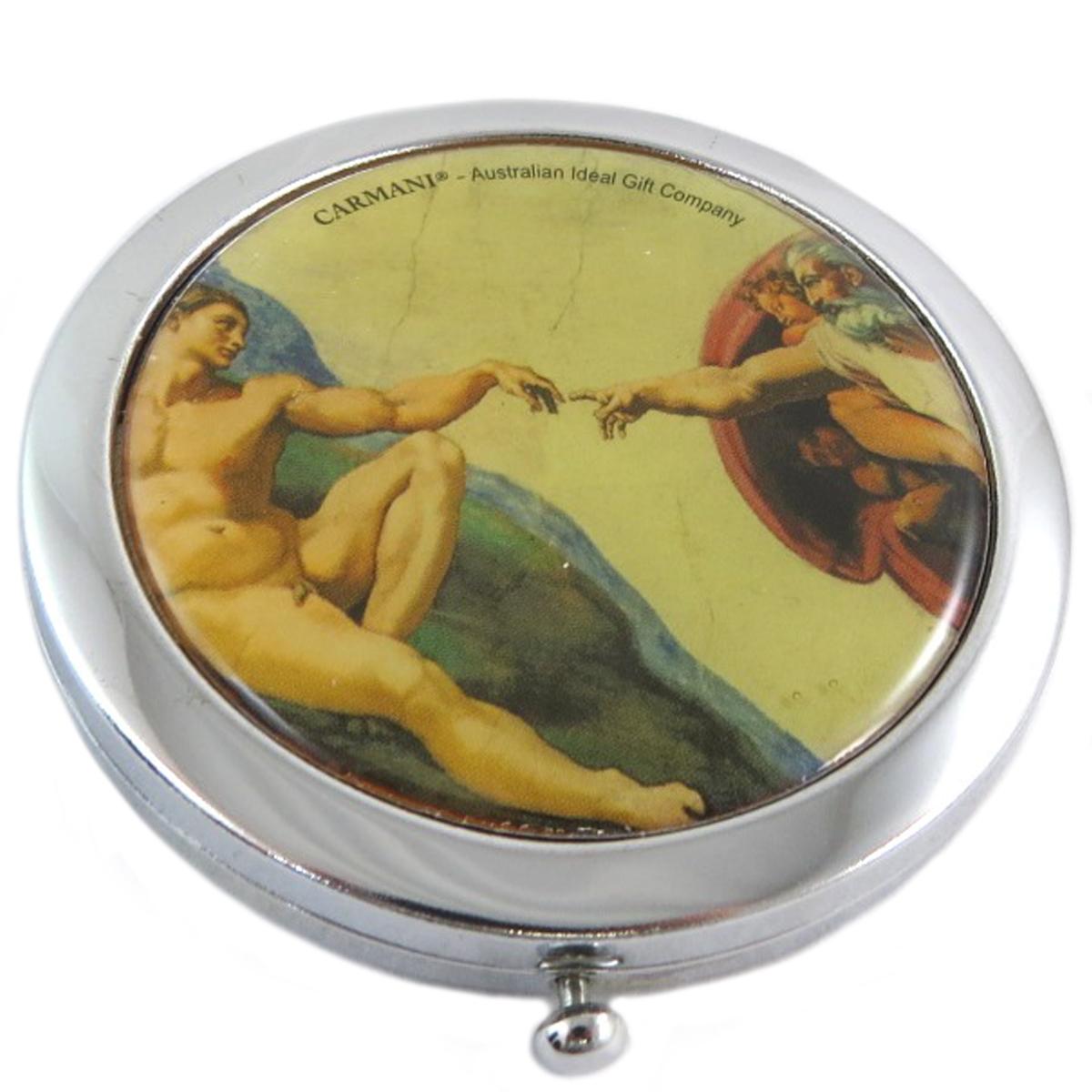 Miroir Créateur \'Michel-Ange\' (La Création d\'Adam) - 7 cm - [Q0180]