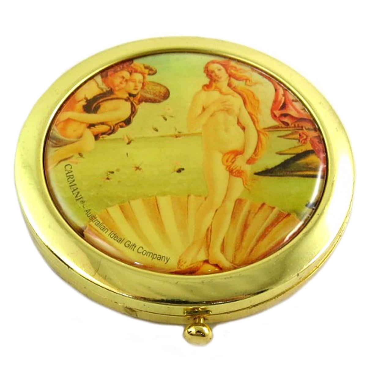 Miroir Créateur \'Botticelli\' (La Naissance de Vénus) - 7 cm - [Q0188]