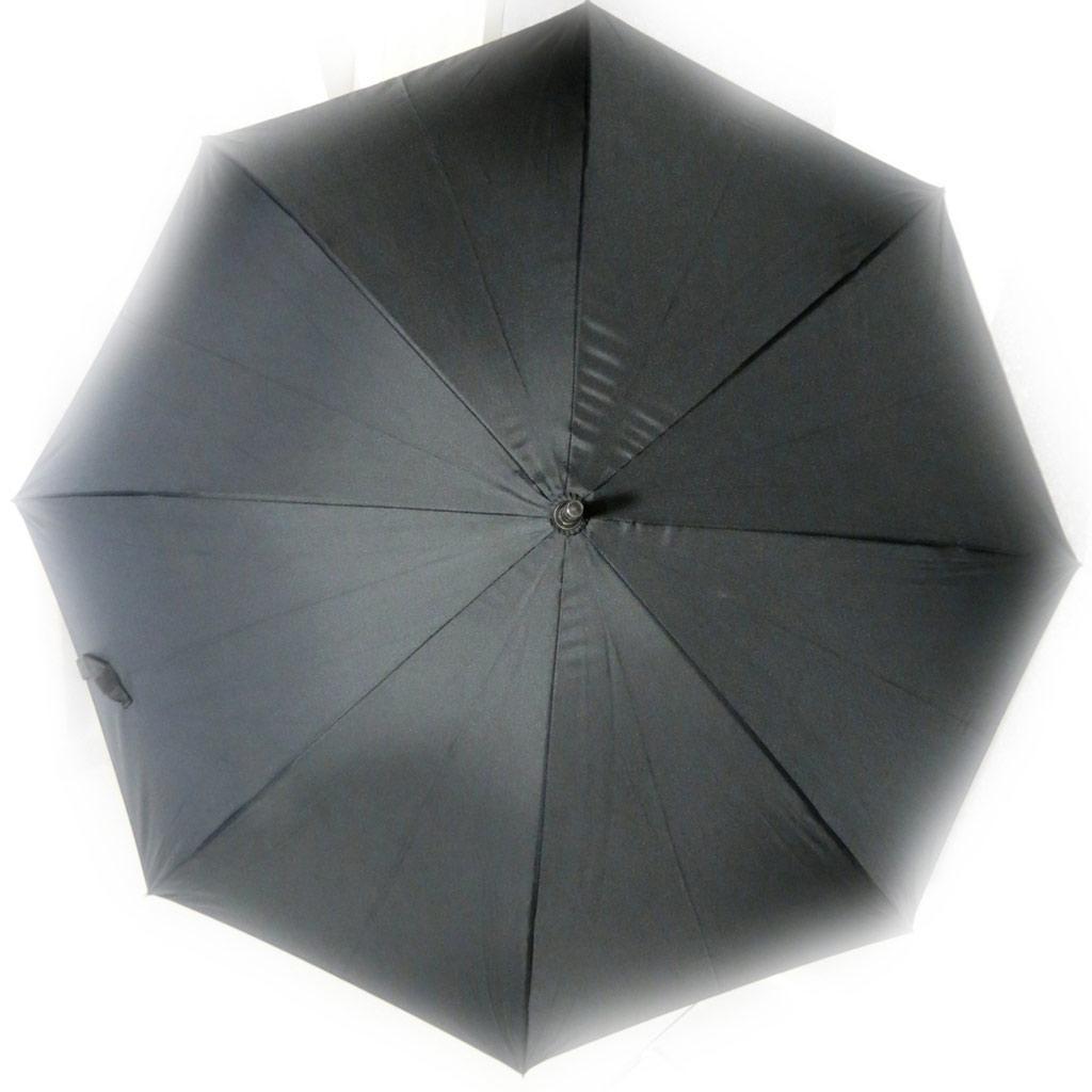 Parapluie canne \'Daniel Hechter\' noir - [K7921]