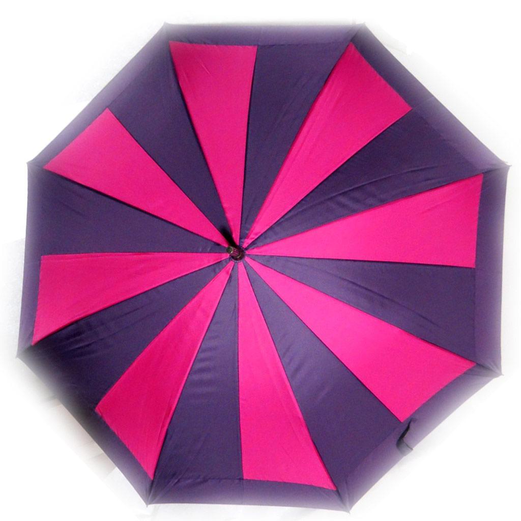 Parapluie Neyrat \'Coloriage\' violet rose - [K7926]