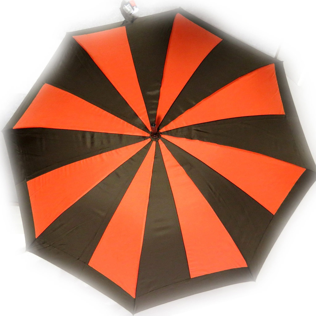 Parapluie Neyrat \'Coloriage\' marron orange - [K7927]