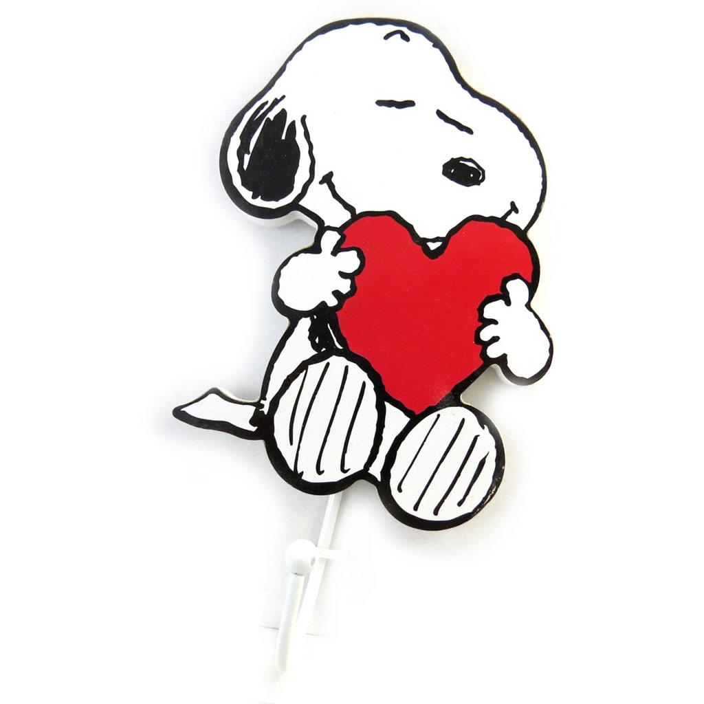 Patère \'Snoopy\' blanc (love)  - [N2089]