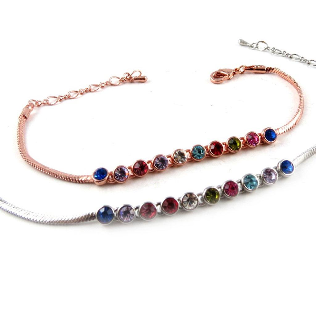2 bracelets \'Scarlett\' tutti frutti - [K8065]