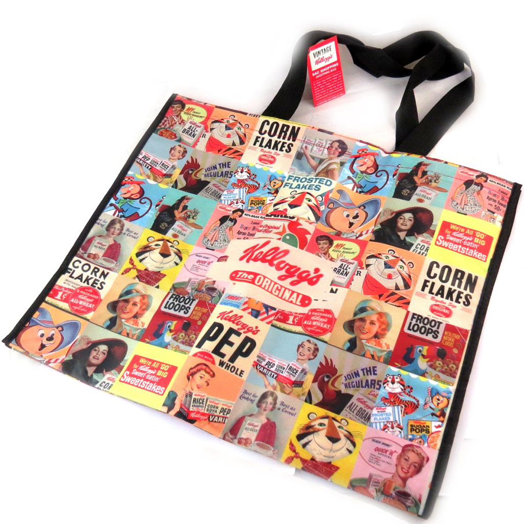 Sac Shopping \'Kellogg\'s\' multicolore - 50x42x22 cm - [N2134]