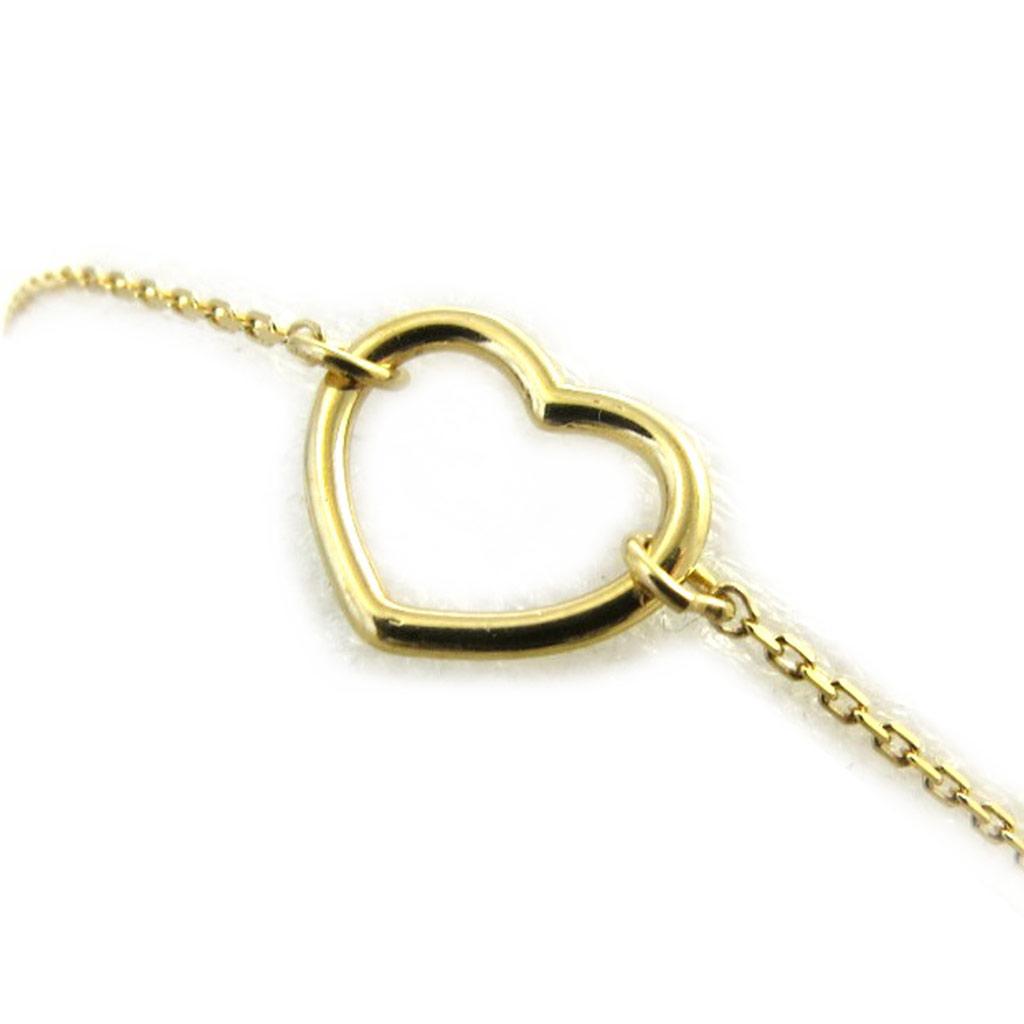 Bracelet plaqué or \'Love\' doré - [N2839]