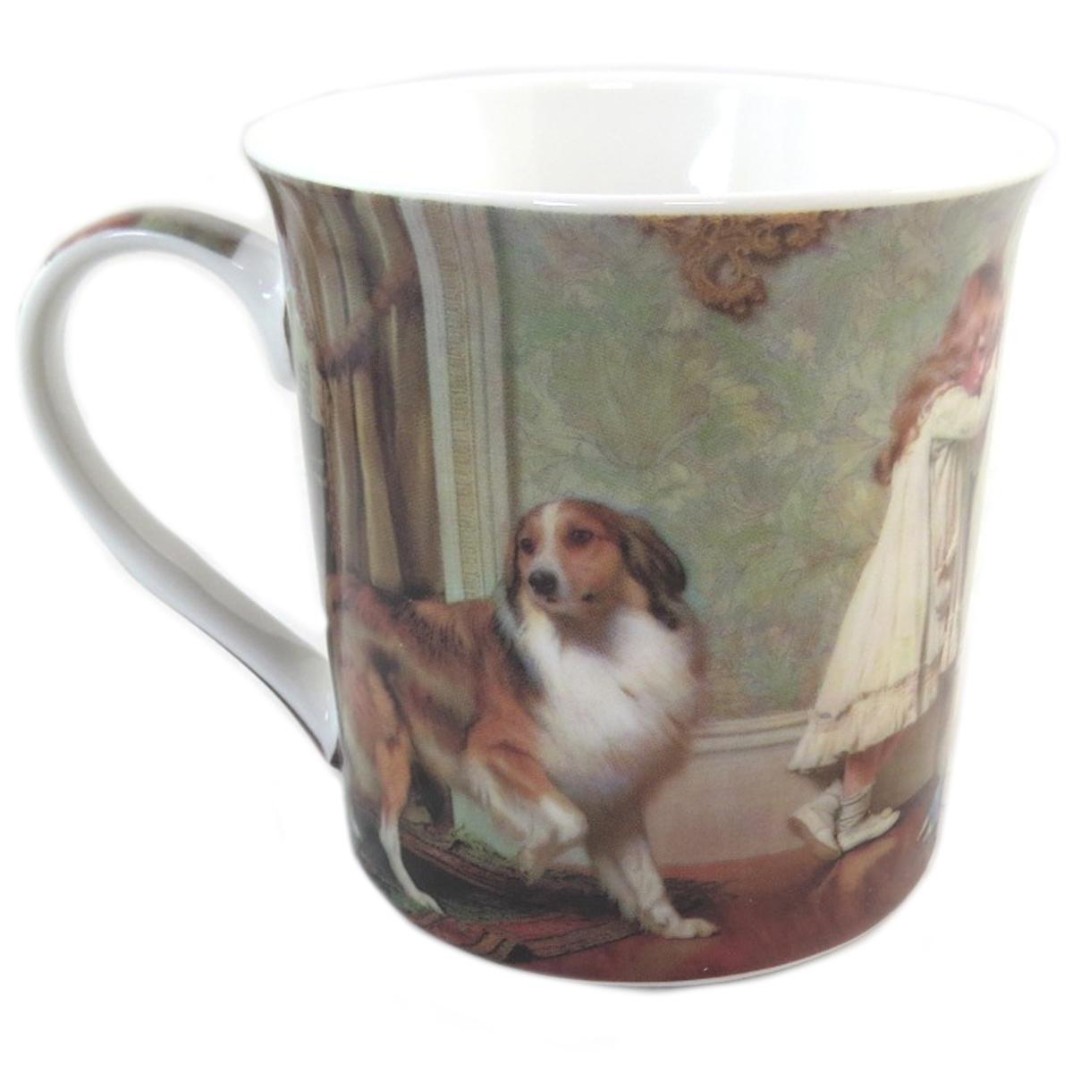 Mug porcelaine \'Charles Burton Barber\' - 85x85 mm - [Q0254]