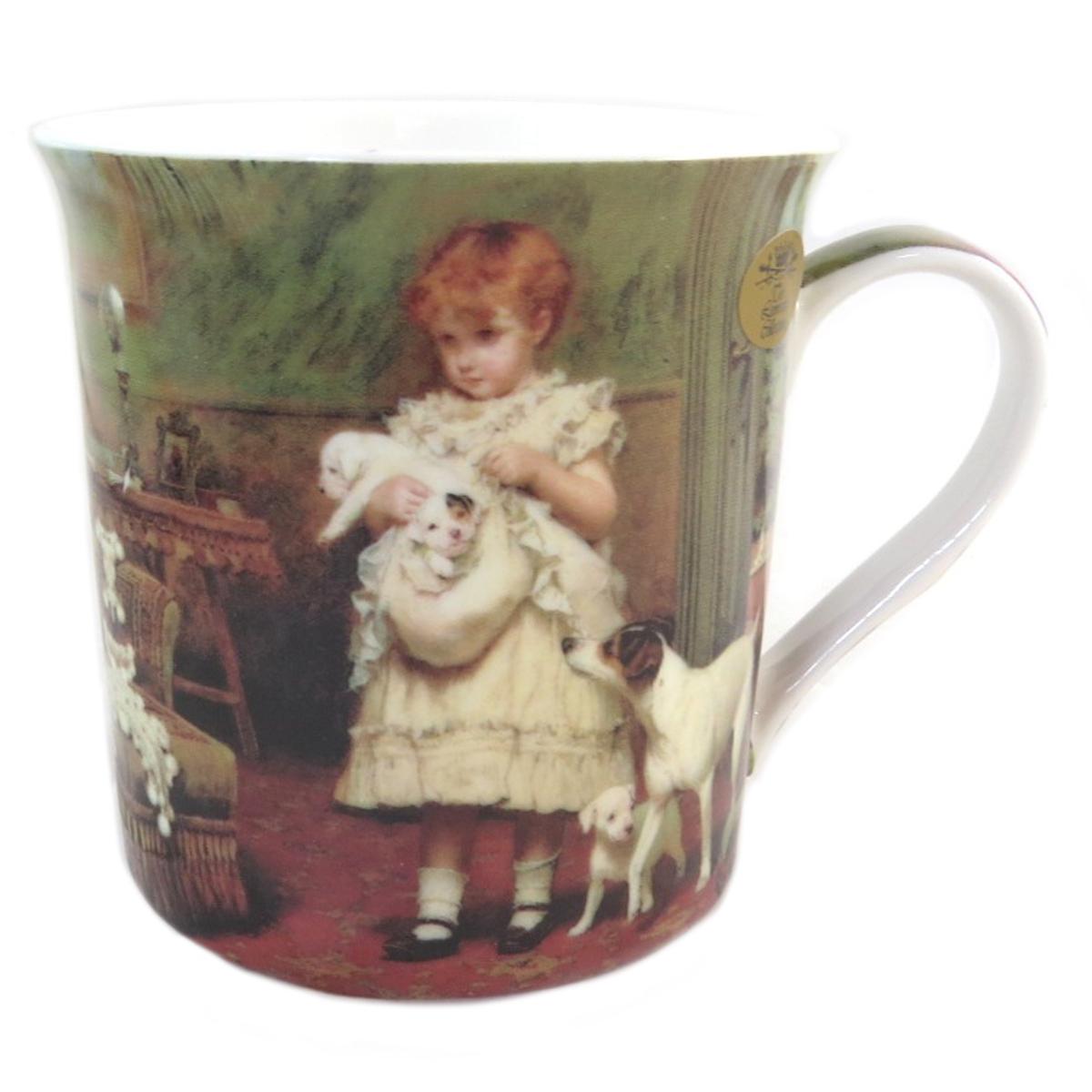 Mug porcelaine \'Charles Burton Barber\' - 85x85 mm - [Q0255]