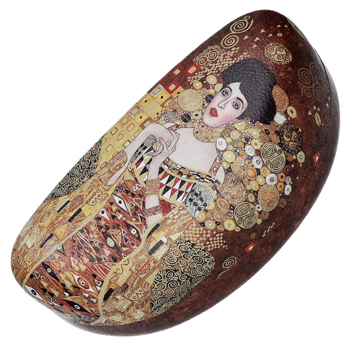 Etui à lunettes \'Gustav Klimt\' (Portrait d\'Adèle) - 155x7 mm - [Q6432]