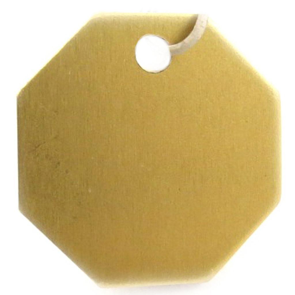 Médaille Animaux \'Octogone\' Doré - [C3724]
