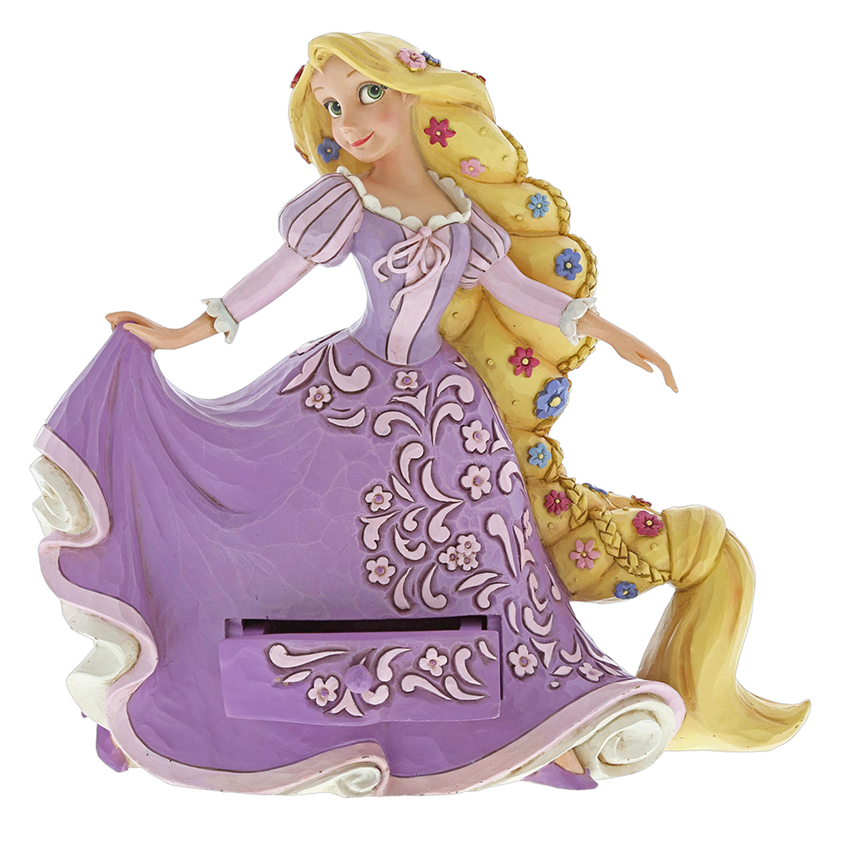 Figurine créateur \'Princesses Disney\' Raiponce (Jim Shore) - hauteur 16 cm - [Q3411]