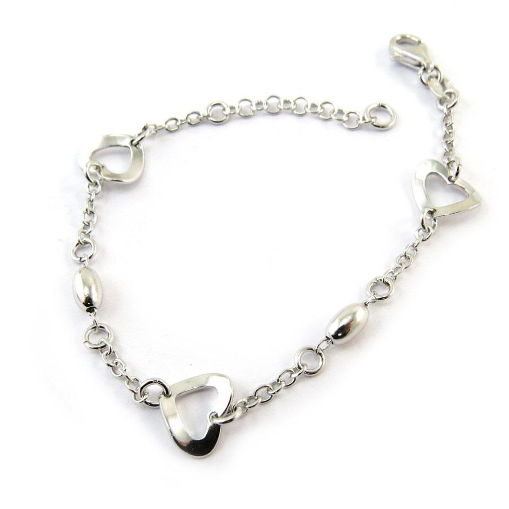Bracelet argent \'Love\'  - [N3772]