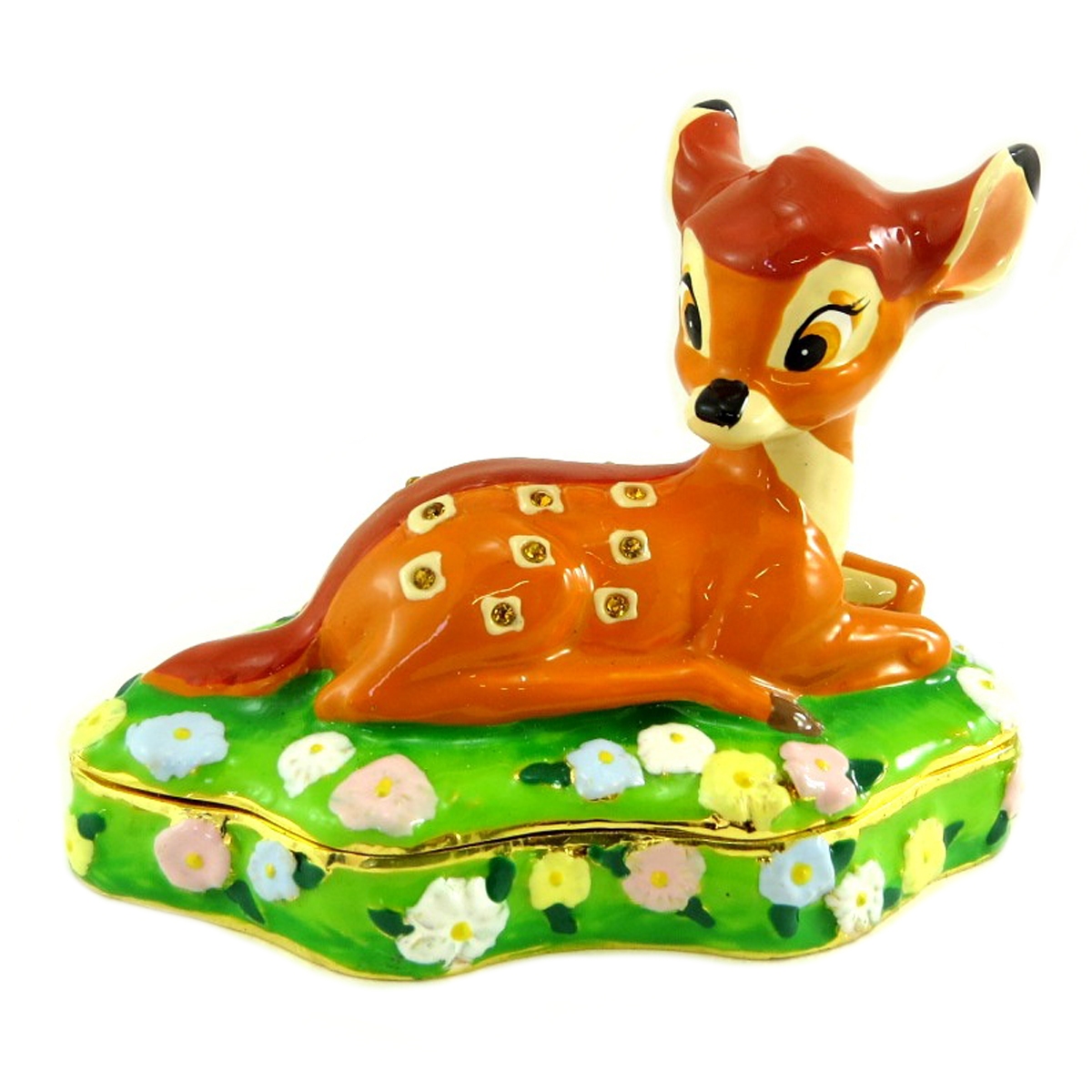 Coffret à Bijoux \'Bambi\' (Disney) - 10x7 cm  - [Q3427]