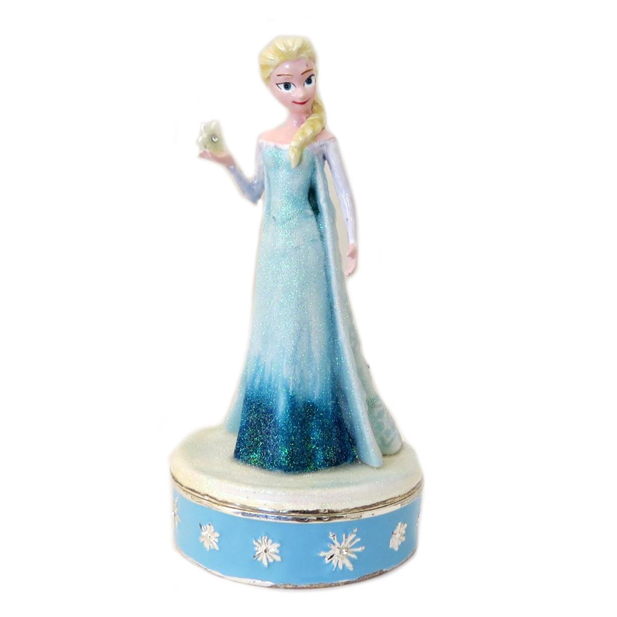 Coffret à Bijoux \'Frozen- Reine des Neiges\' bleu (Elsa) - 115x5 cm - [Q3443]