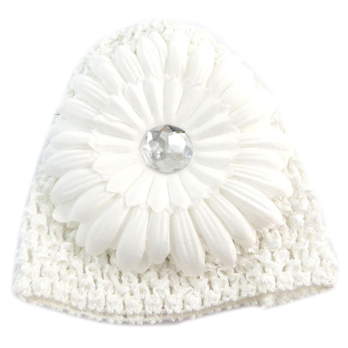 Bonnet enfant \'Petite Lily\' blanc - [Q5217]