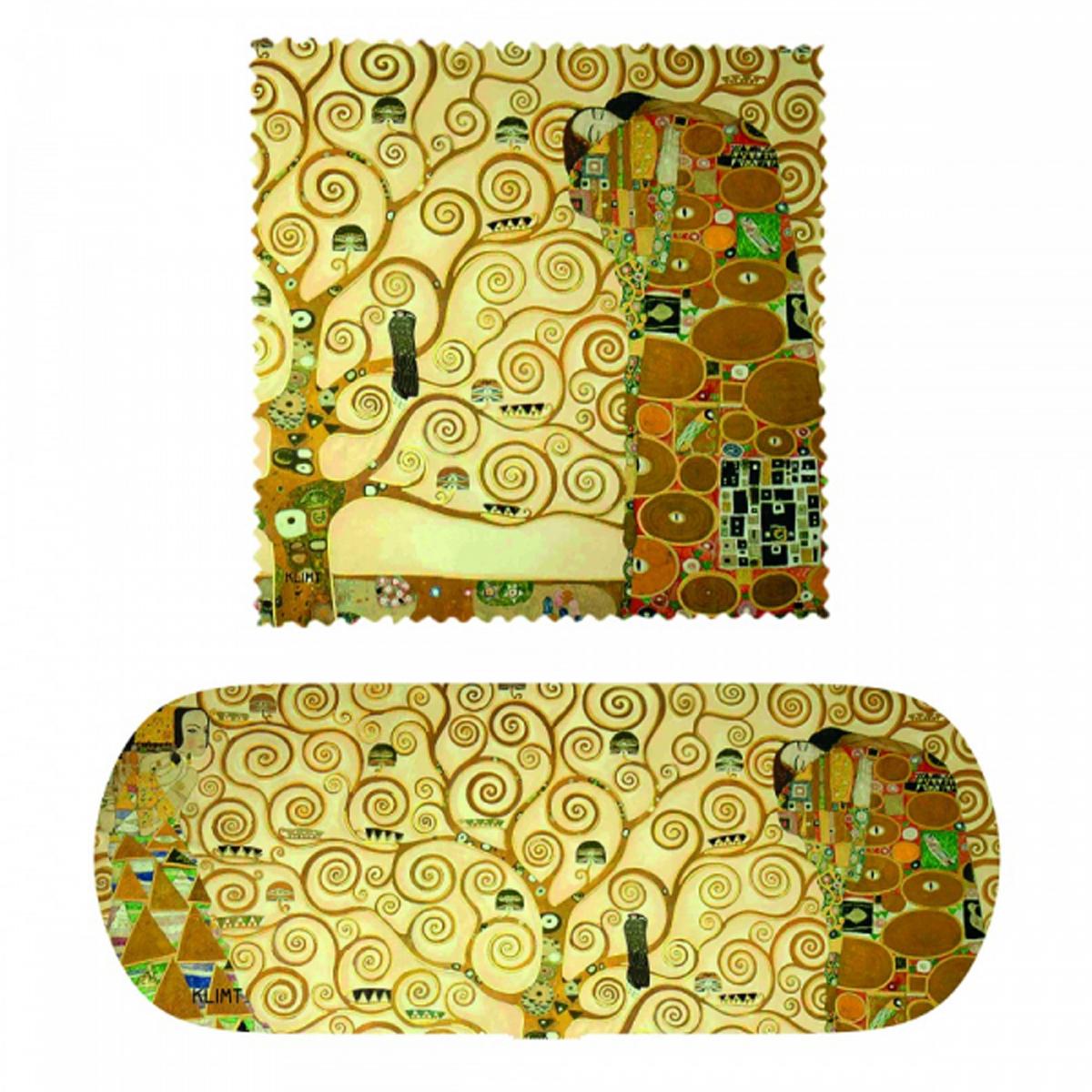 Etui à lunettes \'Gustav Klimt\' (Arbre de vie) - 16x6x36 cm - [R2008]